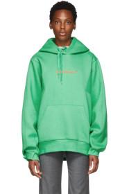 ADER error Green Diagonal Hoodie
