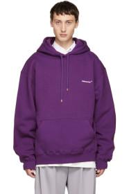 Purple Basic Hoodie