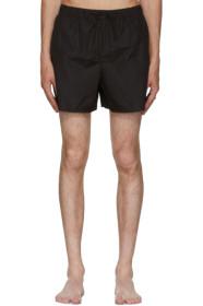 아크네 스튜디오 수영복 블랙 Acne Studios Black Perry Face Swim Shorts