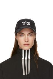 Y-3 Black Foldable Cap