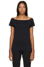 Black Seamless T-Shirt