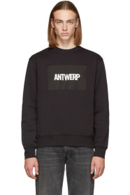 Black Box Logo Sweatshirt