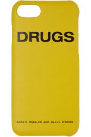 라프시몬스 아이폰X 케이스 Yellow Drugs