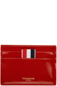 Thom Browne 톰 브라운 Red Double Sided Card Holder