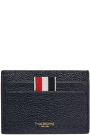 Thom Browne 톰 브라운 SSENSE Exclusive Navy Single Card Holder