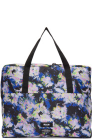 MSGM Multicolor 이스트팩 Eastpak Edition Flowers Tote