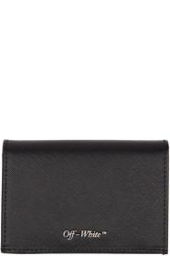 Black Small Bifold Card Holder