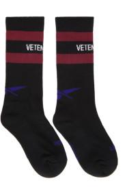 베트멍 Vetements Black 리복 Reebok Edition Classic Socks