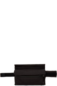 19 S/S 라프 시몬스 X 이스트팩 콜라보 남성용 포스터 벨트백 블랙앤블루 Raf Simons Black & Blue Eastpak Edition Poster Waistbag