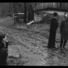 Deborah Turbeville, Rainy Day People, 1995, archival inkjet print on fiber paper, 24 x 36 in. (60.96 x 91.44 cm)