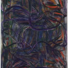 Gabriel Hartley, Hatch, 2011, oil and spray paint on canvas, 102 2/8 x 78 7/8 in. (260 x 200 cm) GH_FP2080