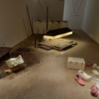 Hany Armanious, Year of the Pig Sty, 2007, mixed media, dimensions variable, installation view, Foxy Production, New York. Photo: Mark Woods