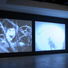 David Noonan, Duet, 2007, installation view, Lehmann Maupin, New York
