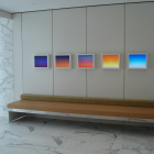 Michael Bell-Smith, Moving, Endless (Samples), 2008, 5 digital lightboxes with digital files, 15 x 18 in. (38 x 45.7 cm.) each (overall dimensions variable), Edition of 3 with 2 AP. MBS_FP1066