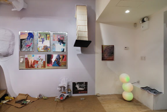 Bobo's on 27th, 2008, installation view, Foxy Production, New York