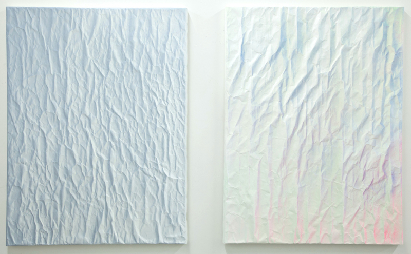 Current Paintings | Pair, # 55 & 57 (at Grayduck Gallery)
