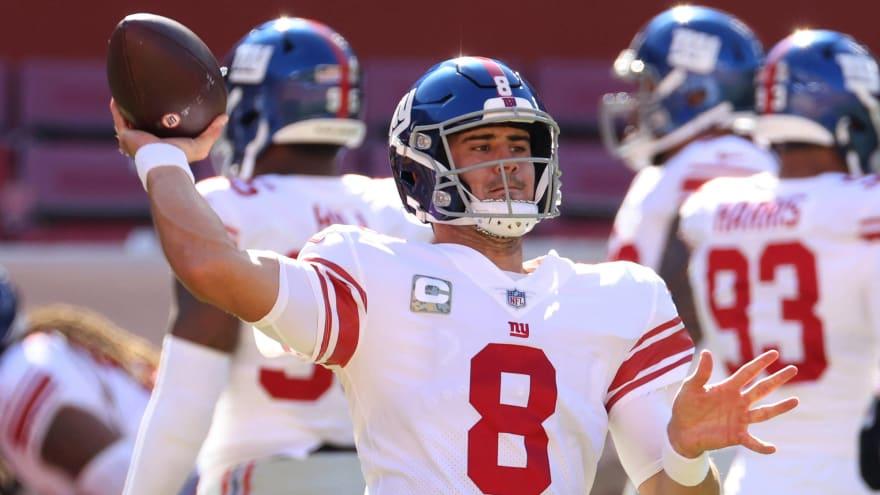 Giants Qb Daniel Jones Feeling Better But Unsure About Seahawks Game Yardbarker