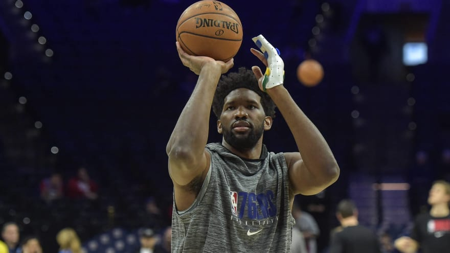 Sixers star Joel Embiid to see hand specialist, could play Tuesday
