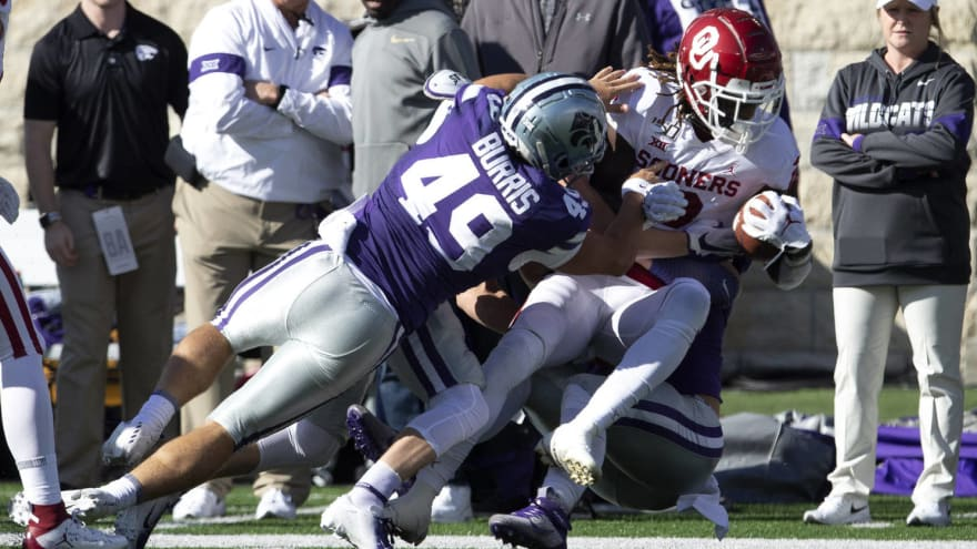 Watch: Oklahoma onside kick recovery wiped out by illegal ...