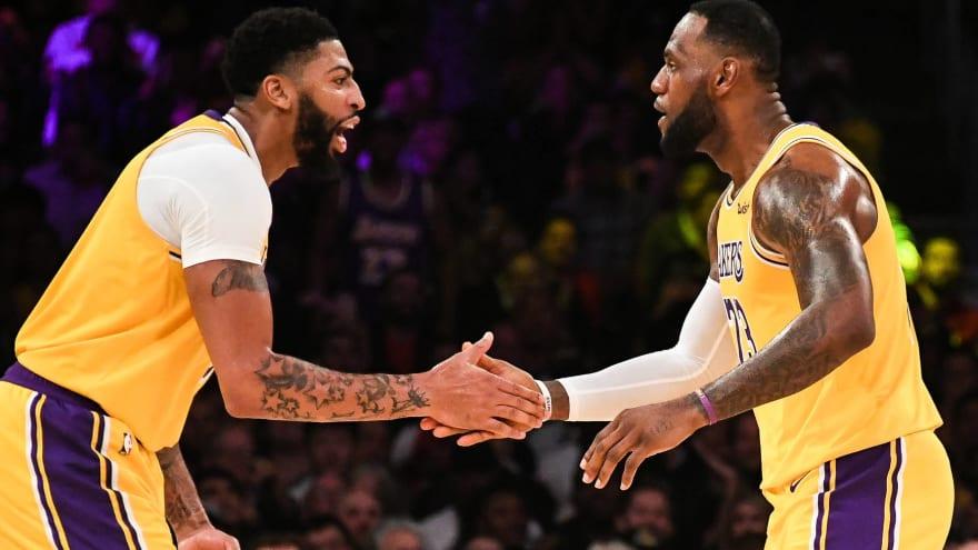 Lakers' LeBron James-Anthony Davis era