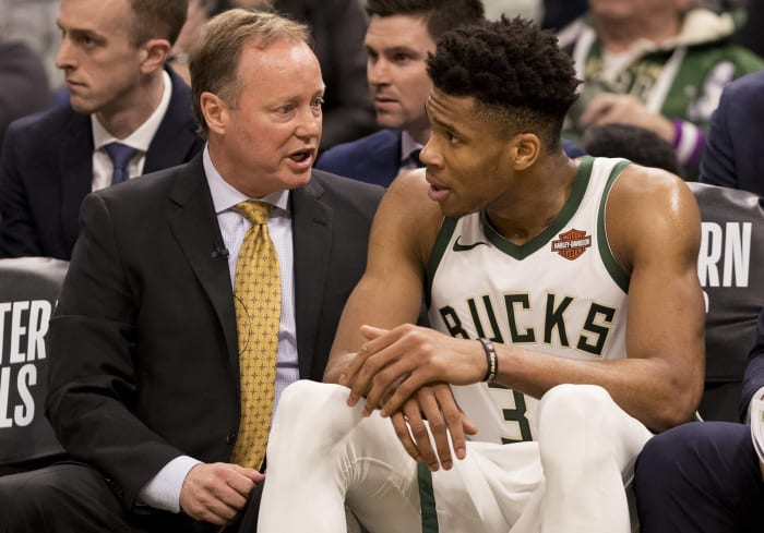 Milwaukee Bucks: Coach Budenholzer adjustments (or lack thereof)