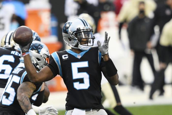 Quarterback issue impeding Panthers rebuild
