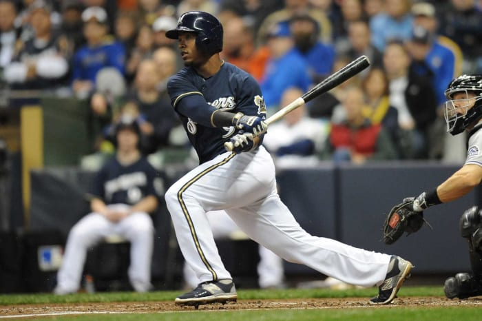 2012: Angels trade Jean Segura and two other prospects to the Brewers for Zack Greinke
