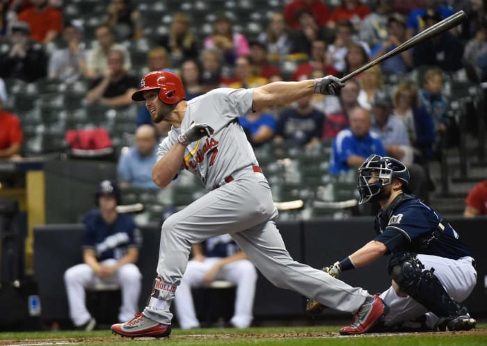 2009: Cardinals acquire Matt Holliday from the Athletics for prospects