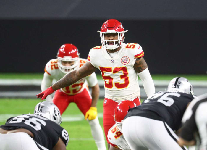 Chiefs: Anthony Hitchens, LB