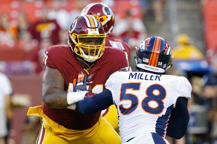 Winner: Trent Williams, LT, 49ers
