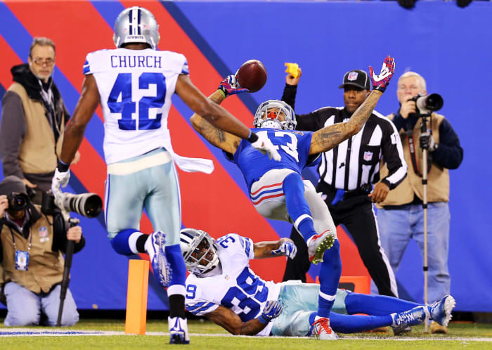 Odell Beckham Jr. makes a catch for the ages