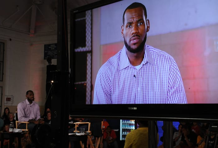 2010: LeBron James on signing with Heat