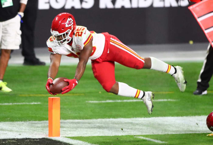 Chiefs: Clyde Edwards-Helaire, RB