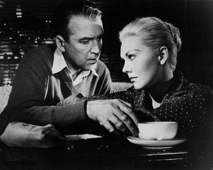 "Jimmy Stewart - ""Vertigo"" (1958)"