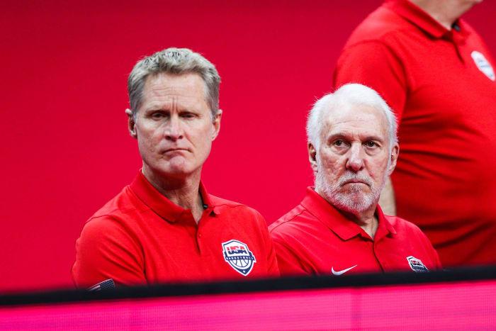 Steve Kerr and Gregg Popovich