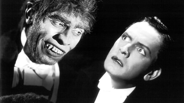 """Frederic March - Best Actor for """"Dr. Jekyll and Mr. Hyde"""" (1931)"""
