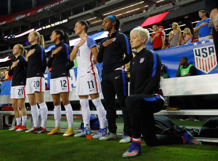 Megan Rapinoe and the United States Women's National Team