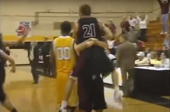 Jordan Snipes hits perhaps the unlikeliest buzzer-beater ever