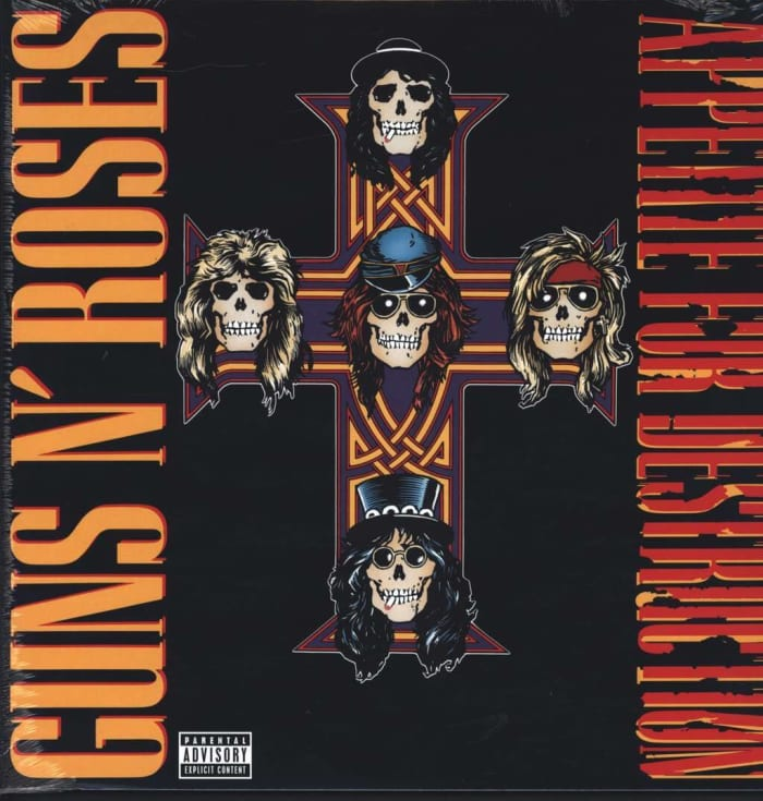 """""""Welcome to the Jungle,"""" (Appetite for Destruction, 1987), Guns N' Roses"""