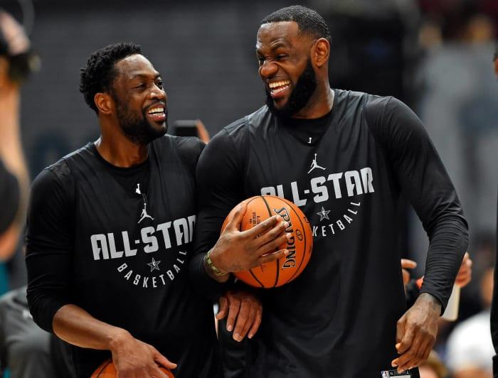 LeBron James and Dwyane Wade, Miami Heat