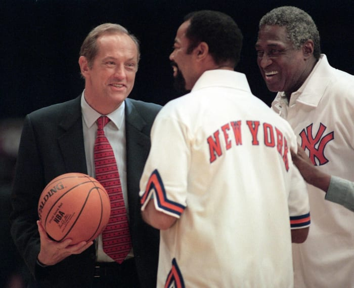 Willis Reed and Walt Frazier, New York Knicks