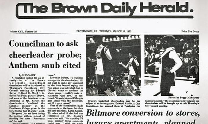1973 Brown Cheerleaders