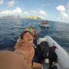 A student studying abroad with Broadreach: Program at Sea - Caribbean PADI Rescue and Divemaster