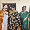 A student studying abroad with South India Term Abroad - SITA