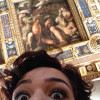 A student studying abroad with CEA: Florence, Italy