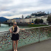 A student studying abroad with Truman State University / CCIS: Salzburg - Study Abroad at Salzburg College