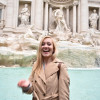 A student studying abroad with ISA Study Abroad in Florence, Italy