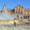 A student studying abroad with CEA: Seville, Spain