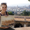 A student studying abroad with Studio Arts Centers International (SACI): Florence - SACI in Florence, Summer