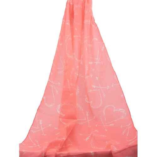 Pink XOXO Scarf